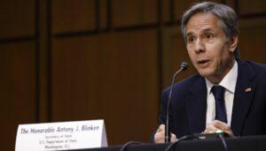US-außenminister antony Blinken warnt vor dem Atomprogramm des Iran