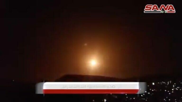Die syrische Nachrichtenagentur SANA meldet israelische Angriffe auf Damaskus