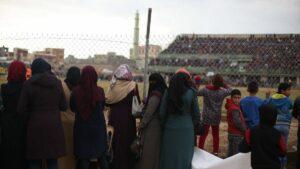 Hamas verbeitet Frauen den Zutritt zu Fussballstadien