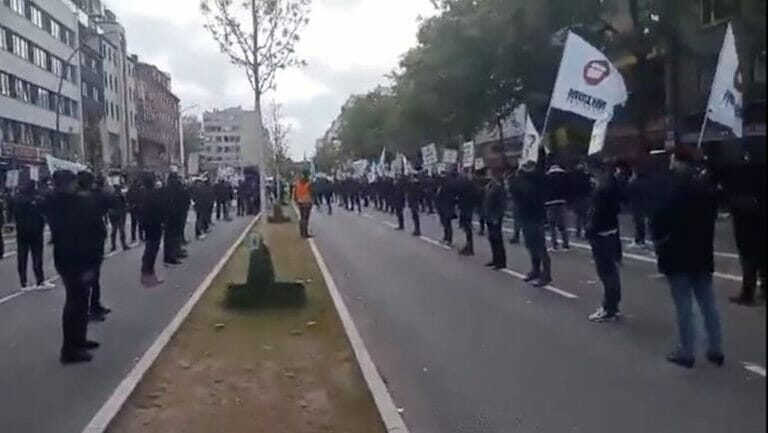 Antisemitsicher Aufmarsch der islamistsichen Organisation Hizb ut-Tahrir in Hamburg