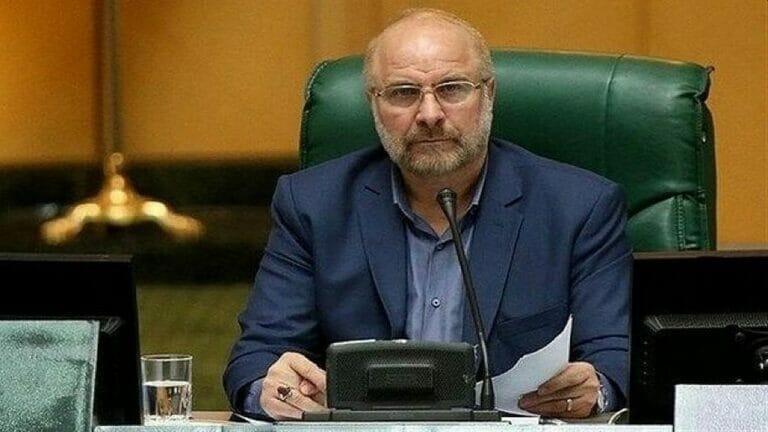 Der iranische Parlamentssprecher Mohammad Bagher Ghalibaf