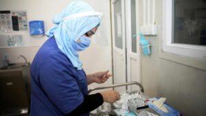 Dutzende Iraker gaben Blutproben ab, um Auskunft über Verbleib ihrer Angehörigen zu erhalten