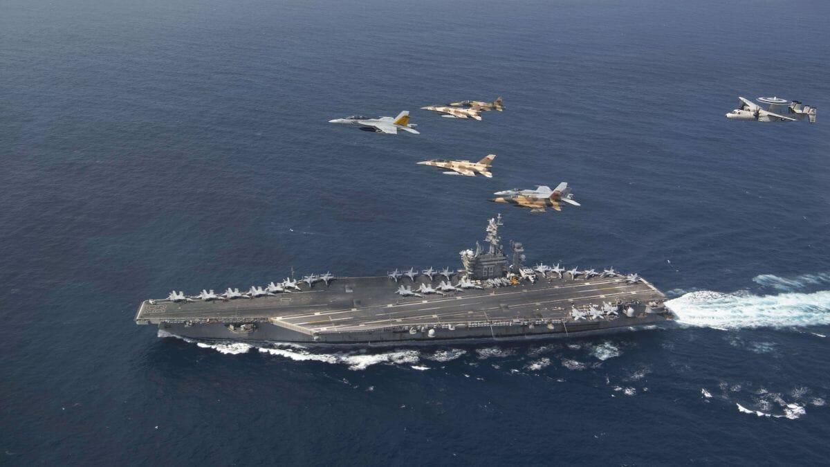 Marrokanische und US-Kampfflugzeuge bei einer gemeinsamen Militärübung
