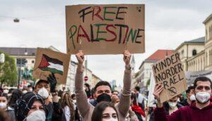 Ist das schon Antisemitismus? Antiisraelische Demonstration in München