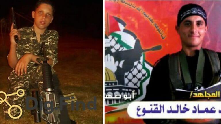 Zwei der auf dem Cover der New York times abgebildeten Kinder, die während des Gaza-Konflikts getötet wurden