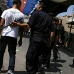Palästinenische Polizei in Hebron