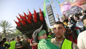 """""""Siegesparade"""" der Hamas im Gazastreifen"""