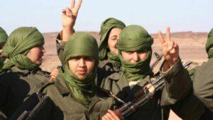 Kindersoldatinnen der Polisario-Front