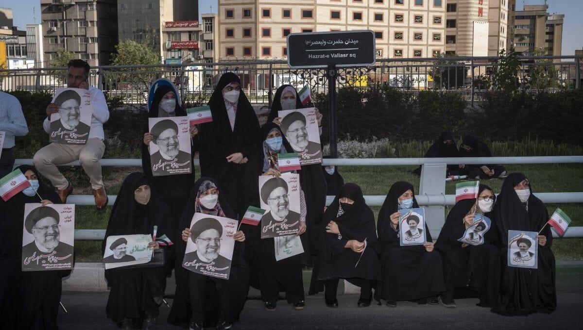 Der Sieger der iranischen Wahlen scheint bereits festzustehen: Ebrahim Raisi