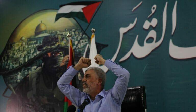 Sinwar droht mit Gewalt. sollte die Hamas nicht umgehend 30 Mio. Dollar aus Katar erhalten