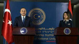 Streitpunkt Libyen: Der türkische Außenminister Cavusoglu zu Gast in Tripolis