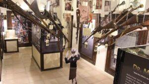 Die Holocaust-Ausstellung im Crossroads of Civilizations Museum in Dubai