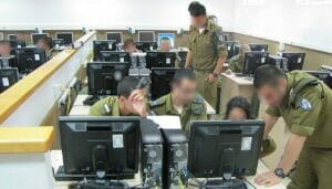 IDF-Soldaten der Cyber Defense Unit