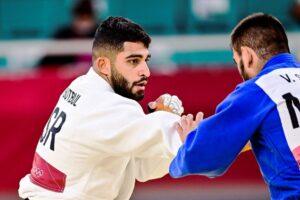 Wurde zum zweiten Mal im olympischen Bewerb boykottiert: der israelische Judoka Tohar Butbul. (© imago images/PanoramiC)