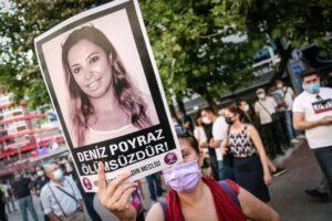 Im Juni wurde Deniz Poyraz bei einem Angriff auf ein Parteibüro der HDP ermordet. (© imago images/ZUMA Wire)