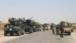 Afghanische Truppen befinden sich an mehreren Fronten auf dem Rückzug vor den Taliban