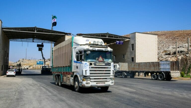 Aufgrund des Sicherheitsratsbeschlusses kann der Grenzübergang Bab al-Hawa nach Syrien offen bleiben