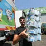 Eisfabrik von Ben & Jerrys in Beer Tuvia in Südisrael