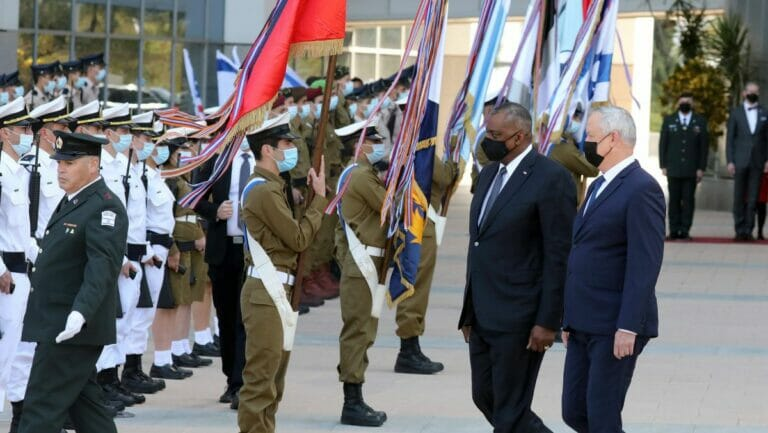 Israels Verteidigungsminister Benny Gantz