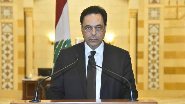 Der geschäftsführende Premierminister des Libanon Hassan Diab