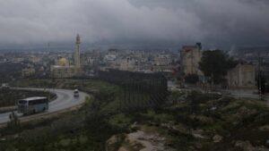 Das arabische Dorf Husan in der Westbank