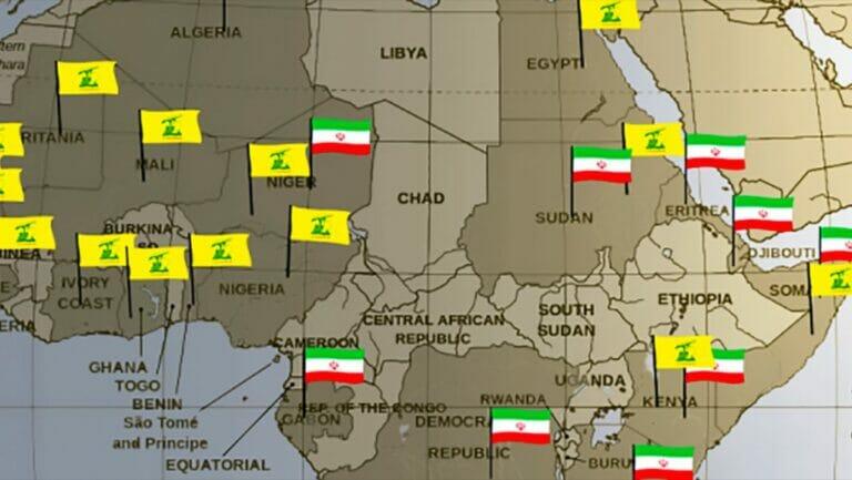 Iranische Aktivitäten in Afrika