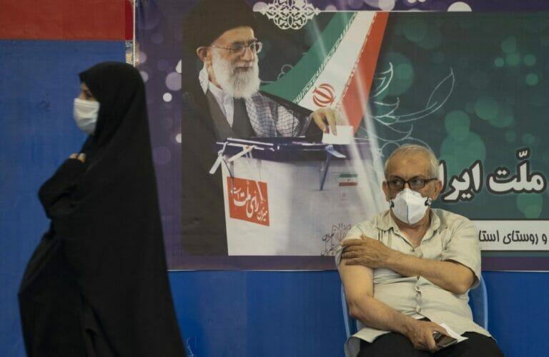 Erst 7% der Iraner haben mindestens eine Corona-Impfung erhalten