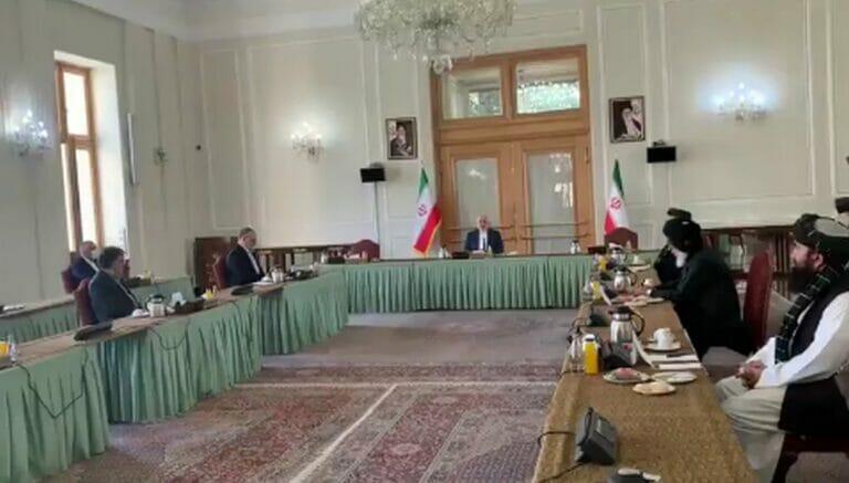 Delegation der afghanischen Regierung und der Taliban zu Gast im Iran