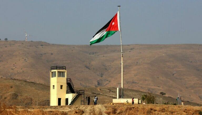 Grenzübergang zwischen Israel und Jordanien