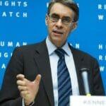 Der seit 1993 amtierende Chef der Organisation Human Rights Watch Kenneth Roth