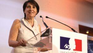 Die französische Botschafterin im Libanon Anne Grillo