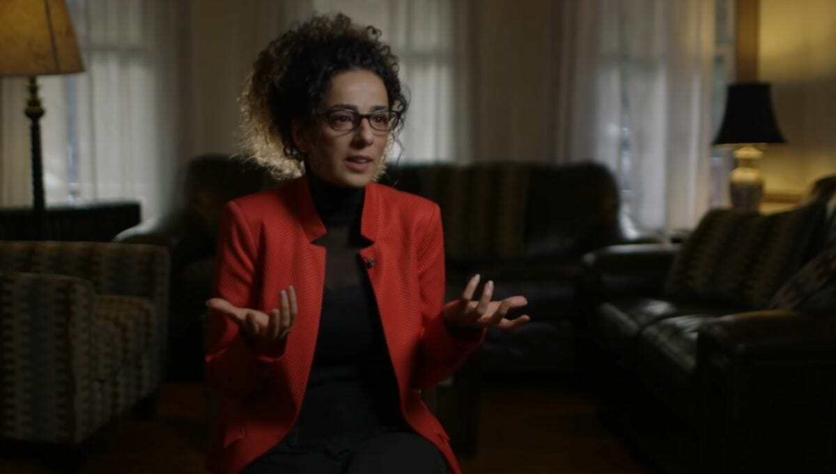 Die iranische Menschenrechtsaktivistin Masih Alinejad