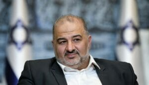 Führer der arabischen Ra'am-Partei in Israel, Mansour Abbas