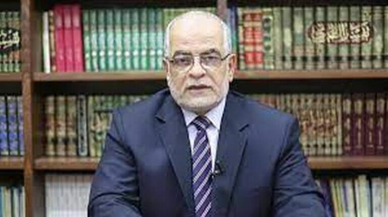 Der palästinensische Professor für islamische Studien Nasr Fahajan