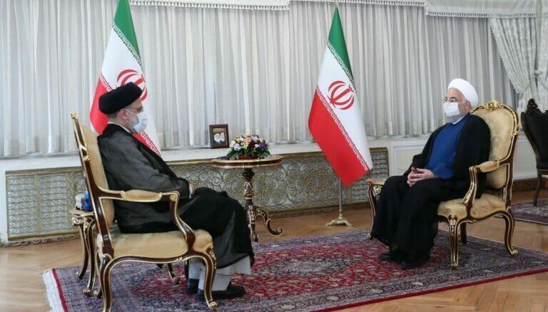 Am 5. August übergibt Rohani die Präsidentschaft an seinen Nachfolger Raisi