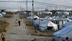 Das Flüchtlingslager Bardarash in Irakisch-Kurdistan