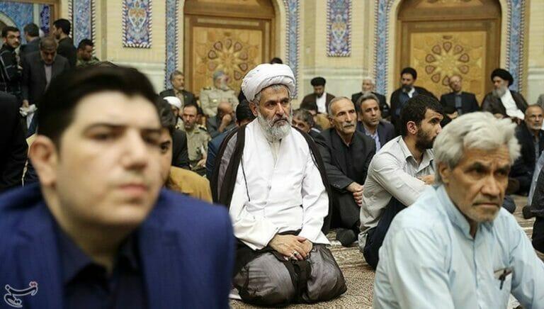 Revolutionsgardenkommendeur Hossein Taeb war auf Befehl Khameneis im Irak