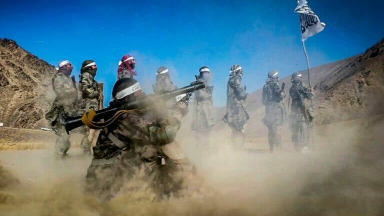 Seit dem Abzug der westlichen Truppen sind die Taliban in Afghanistan auf dem Vormarsch