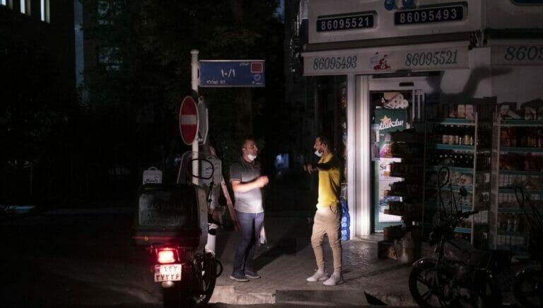 Im Iran kommt es zu großflächigen anhaltenden Stromausfällen