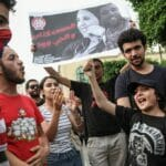 Proteste gegen Polizeigewalt in Tunesien