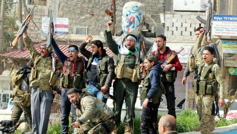 Mit der türkei verbündete Milizen in Syrien setzen Kindersoldaten ein