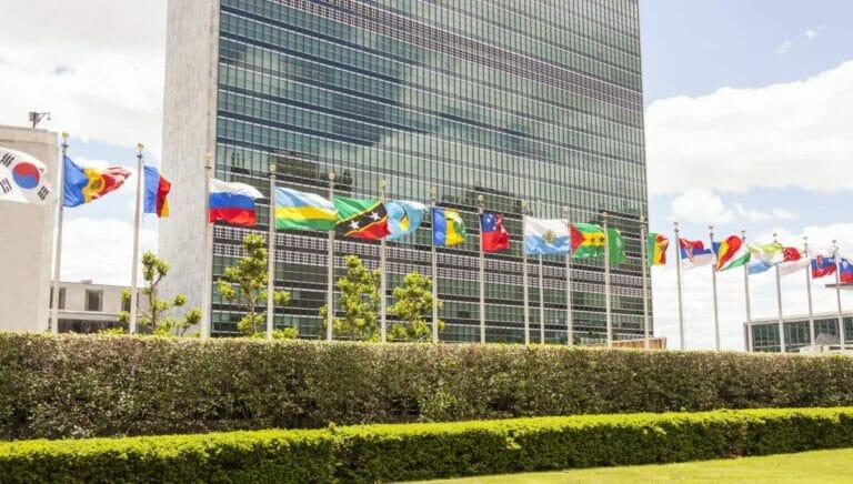 Das UNO-Hauptquartier in New York