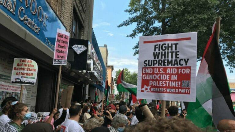 Antiisraelische Demonstration in den USA