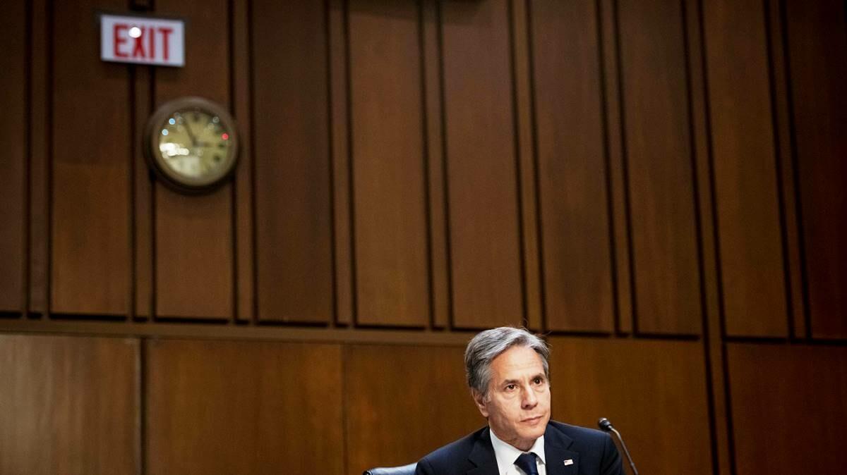 Was Afghanistan betrifft, ergeht sich das US State Department (im Bild Außenminister Blinken) in Realitätsverweigerung. (© imago images/ZUMA Wire)