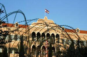 Das große Serail in Beirut, Sitz der Regierung des Libanon. (© imago images/ITAR-TASS)