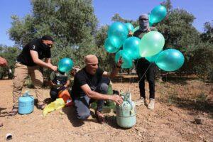 Falls ihr Geld nicht bar zur Verfügung gestellt wird, droht die Hamas u.a. wieder mit Brandballons gegen Israel. (© imago images/ZUMA Wire)