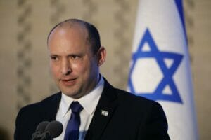 Israels Premier Naftali Bennett. (© imago images/UPI Photo)