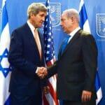 """Wollte Netanjahu 2013 das angeblich so erfolgreiche """"Modell Afghanistan"""" schmackhaft machen: US-Außenminister John Kerry. (© imago images/ZUMA Wire)"""