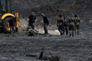 Raketen aus dem Libanon schlugen nahe des israelischen Ortes Kiryat Shmona ein. (© imago images/Xinhua)