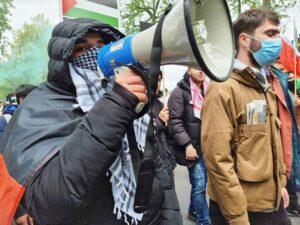 """Während des Gaza-Krieges wurde der Hass auf Israel in London nicht nur in wütenden Demonstrationen auf die Straße gebracht, die Polizei verzeichnete auch einen Rekord an antisemitischen Vorfällen. (© <a href=""""http://www.imago-images.de"""">imago images</a>/UIG)"""